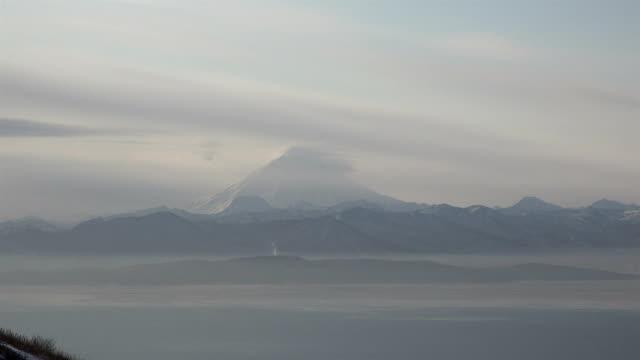 mountain ridge on the Avacha Bay Kamchatka Territory video