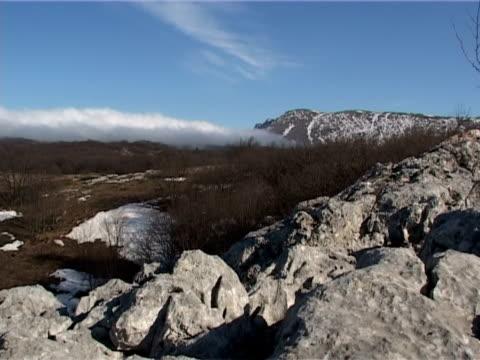 Mountain ridge video