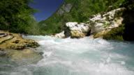 Mountain River Super Slow Motion video