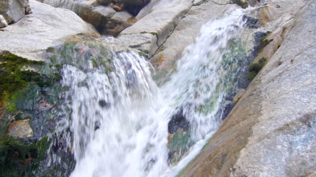 Mountain river water stream video