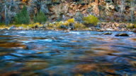 Mountain river water video