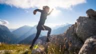 Mountain Running video