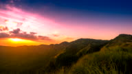 mountain, Thailand Phu Tabberk, timelapse video