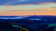 Mountain time lapse from New South Wales, Australia video