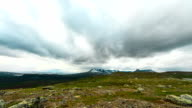 Mountain time lapse HQ 1080p video