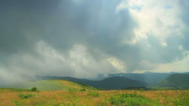 Mountain Time Lapse video