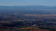 Mountain Town Aerial video