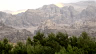 mountain, wadi rum, valley of the moon video