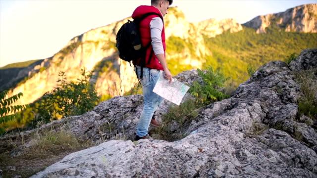 Mountain walk video