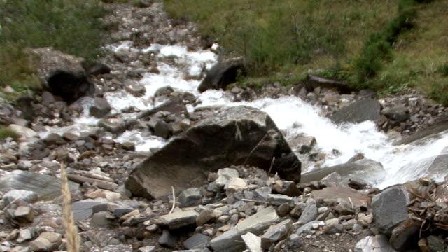 mountain waterfall slowmo rauris video