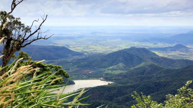 Mountainous landscape in Vietnam video
