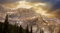 Mountains In Golden Light video