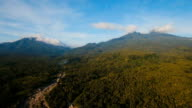 Mountains with tropical forest. Camiguin island Philippines video