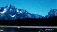 Mountains, Yellowstone Park (Archival 1950s) video