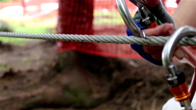 Mounting A Flying Fox Pulley video