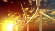 Move over grow up building wind turbines generating energy video