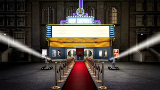 Movie Marquee HD Video video