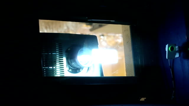 movie projector video