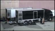(HD1080i) Movie / TV Production: Lighting Trucks video