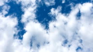 Moving Clouds In The Blue Sky video