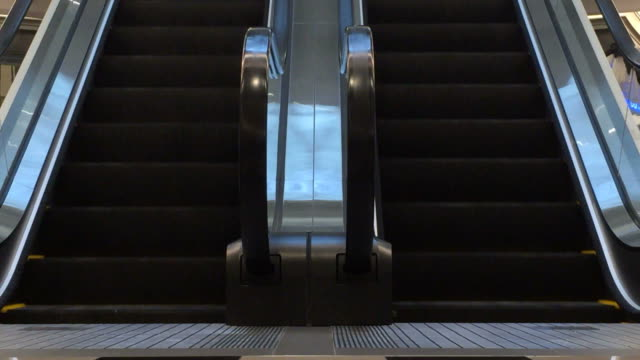 moving escalator up and down video