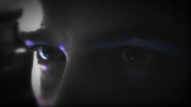 Moving Eyes video