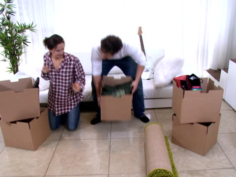 Moving in to new home video