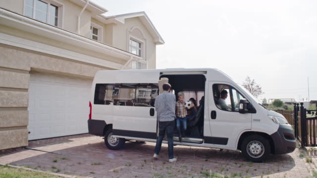 Moving into Large Beautiful House video