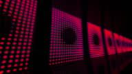 Moving light panels video