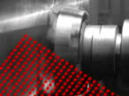 moving machinery parts close-up video
