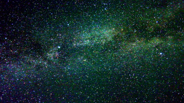 Moving Milky Way video