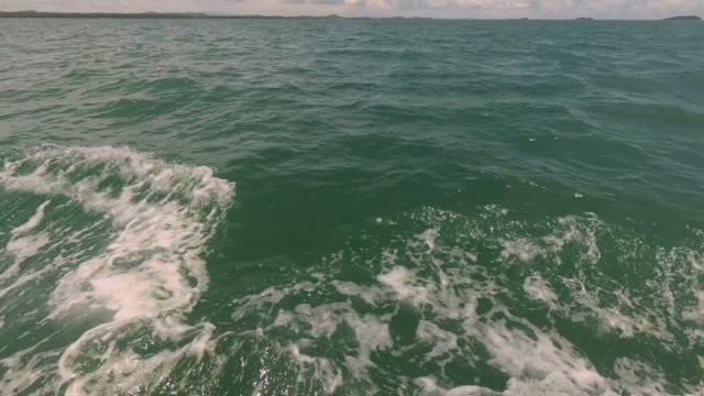 Moving Over the Ocean video