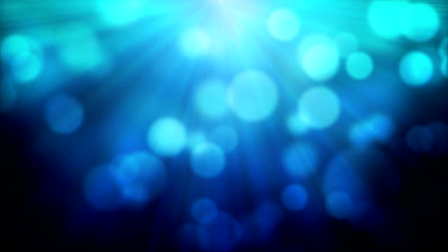 Moving Particles - Blue (HD 1080) video