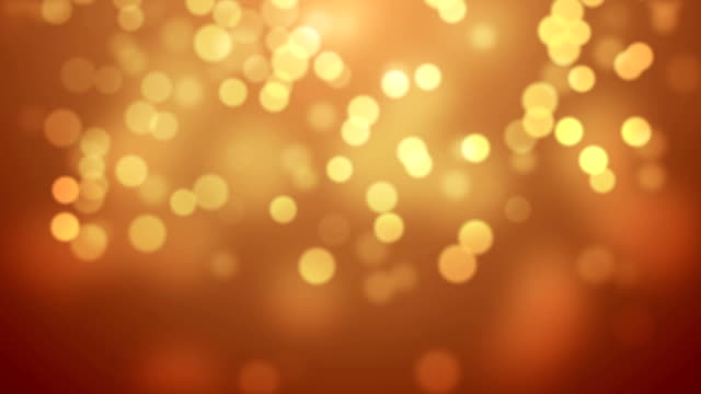 Moving Particles - Golden (HD 1080) video