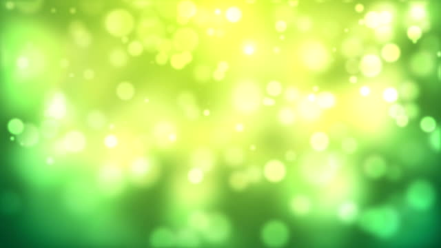 Moving Particles - Green (HD 1080) video