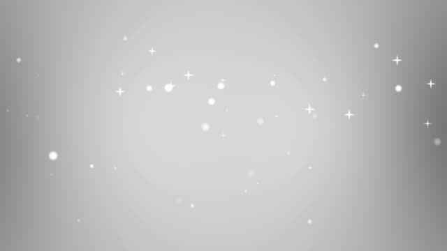 Moving Particles Loop - Star Grey Motion Background video