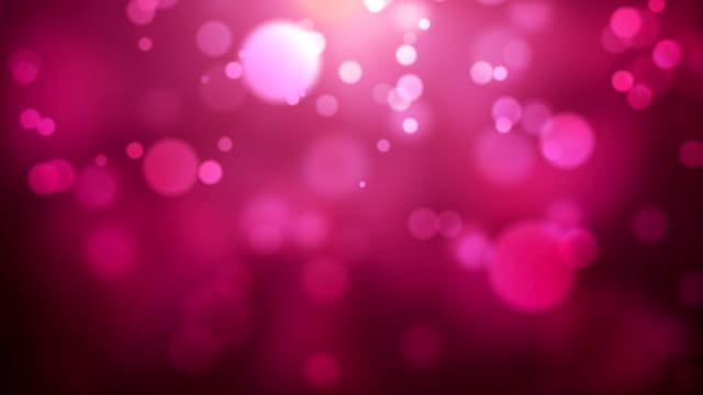 Moving Particles - Pink HD video
