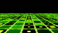 Moving technologic squares video
