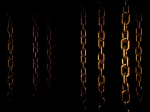 Moving through the chains (Loopable, PAL) video