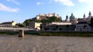 Mozart Bridge - Salzburg, Austria video