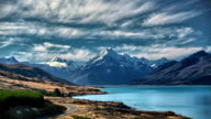 Mt Cook Time-lapse video