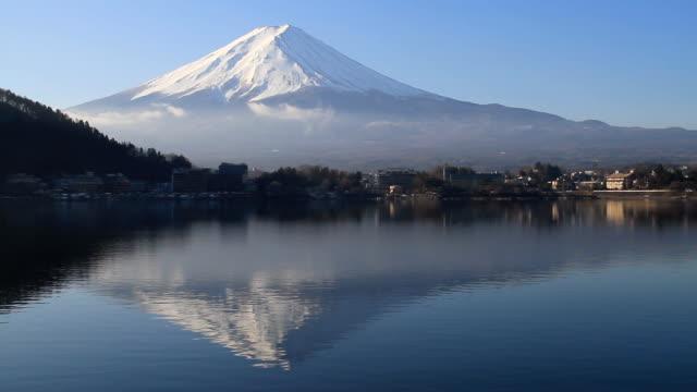 Mt Fuji in Japan - Stock Video video
