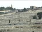 Mt. of Olives in Jerusalem video