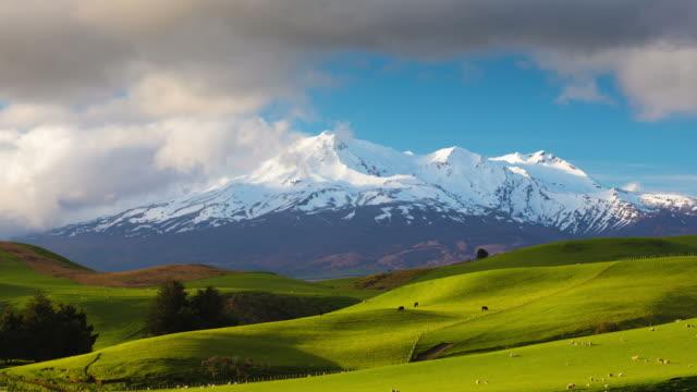TIME LAPSE: Mt Ruapehu, New Zealand video