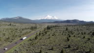 Mt. Shasta Aerial Highway video