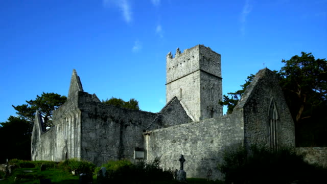 Muckross Abbey In Killarney National Park video