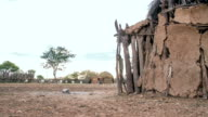 WS DS Mud Huts In The Himba Village video