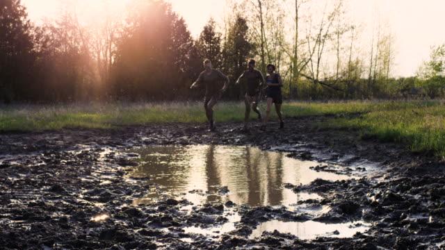Mud Run video