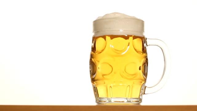 Mug of beer video