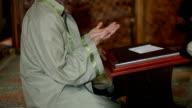 Mullah praying in mosque video